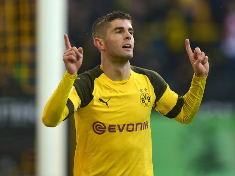 Christian Pulisic hints he is eyeing up Eden Hazard's favourite position at Chelsea