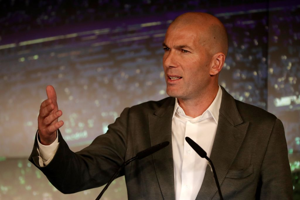 Zinedine Zidane handed £300m war chest by Real Madrid with Spurs and Chelsea stars among top targets