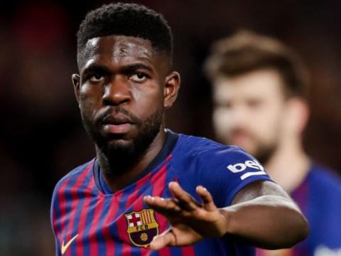 Barcelona set asking price for Arsenal and Manchester United target Samuel Umtiti