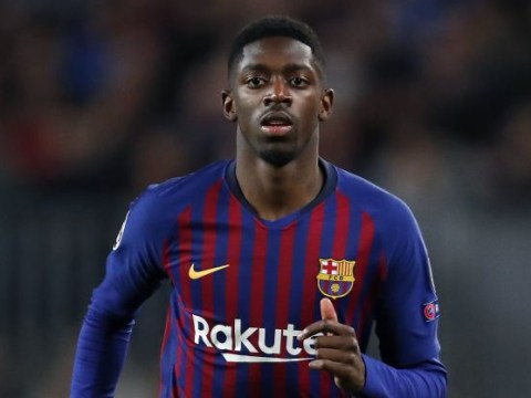 Barcelona confident Ousmane Dembele will return to face Manchester United