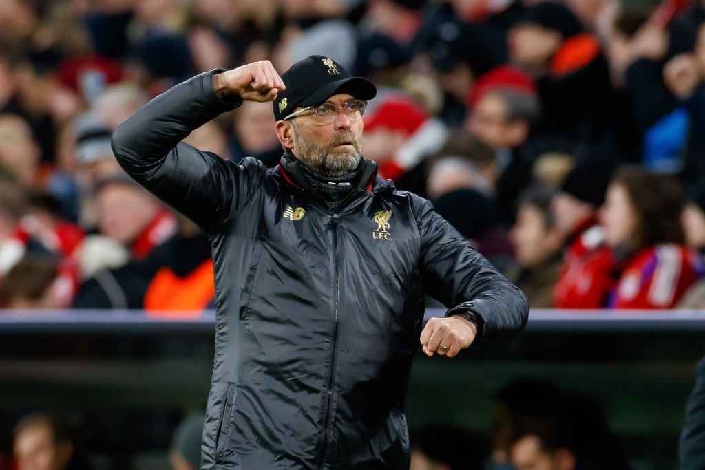 Jurgen Klopp hails Liverpool's maturity in Champions League win over Bayern Munich