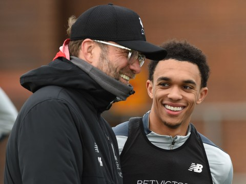 Trent Alexander-Arnold coy on midfield role and reveals what Jurgen Klopp is really like