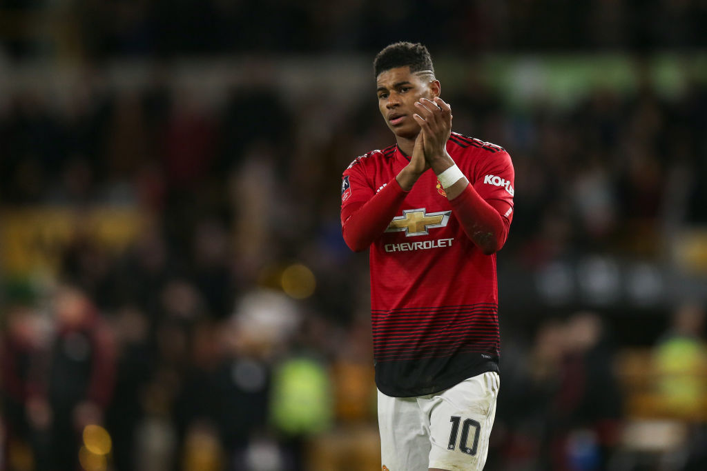 Marcus Rashford names the most complete Premier League striker