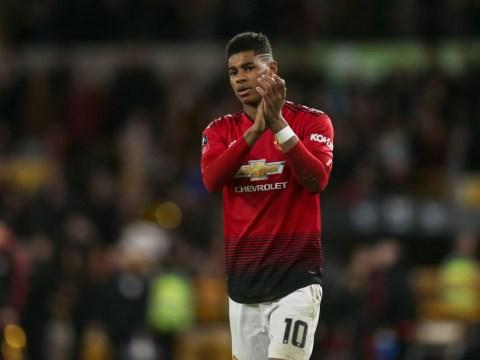 Marcus Rashford names the most complete Premier League striker