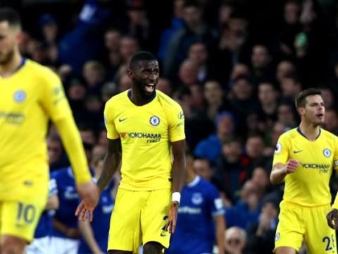Antonio Rudiger slams Chelsea team-mates for 'unacceptable' Everton defeat