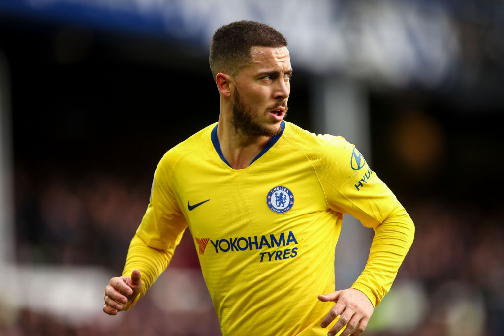 Eden Hazard urged to leave Chelsea for Real Madrid by Rivaldo