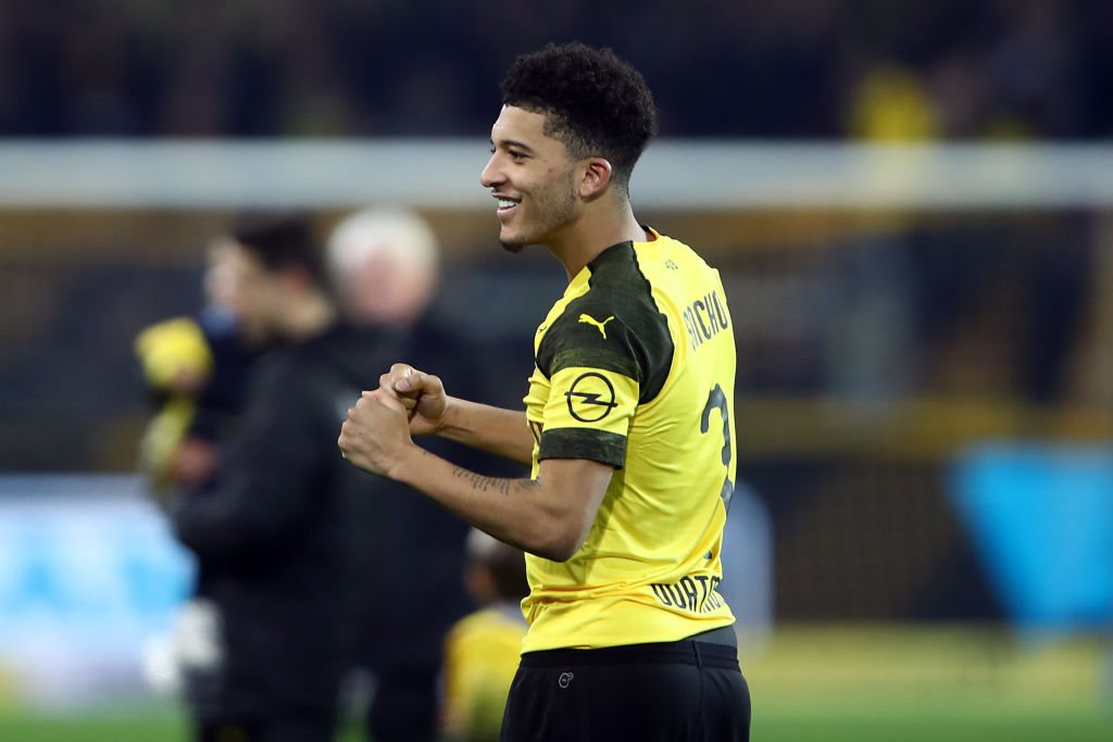 Borussia Dortmund interested in David Neres as potential Jadon Sancho replacement