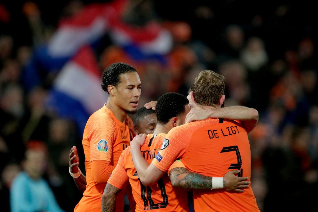 Liverpool star Virgil van Dijk sends warning to Barcelona transfer target Matthijs De Ligt