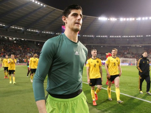 Thibaut Courtois speaks out on mistake against Russia and slams Spanish media