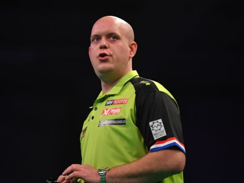 Michael van Gerwen reacts to shock defeat as World No.1 and Gary Anderson crash out of UK Open