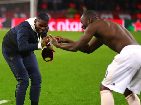 Paul Pogba and Romelu Lukaku hit out at 'bust-up' reports after PSG win
