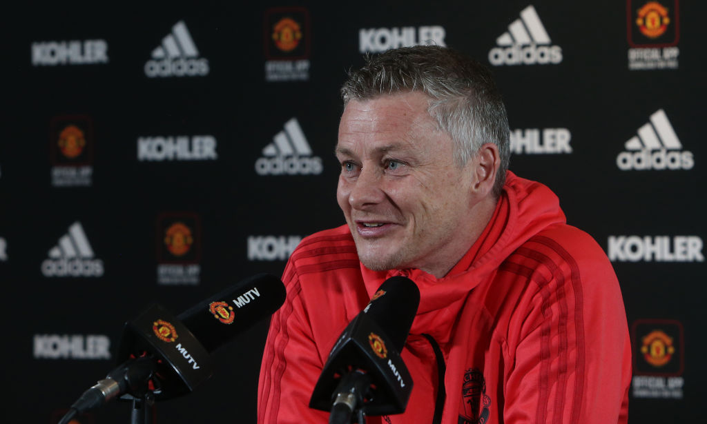 Man Utd manager Ole Gunnar Solskjaer ready to stick with two up top vs Arsenal