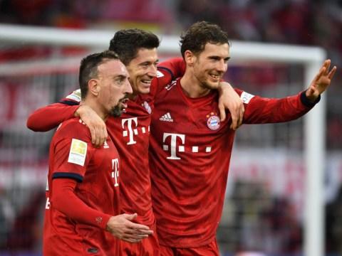 Robert Lewandowski and Franck Ribery set Bundesliga records ahead of Liverpool Champions League clash