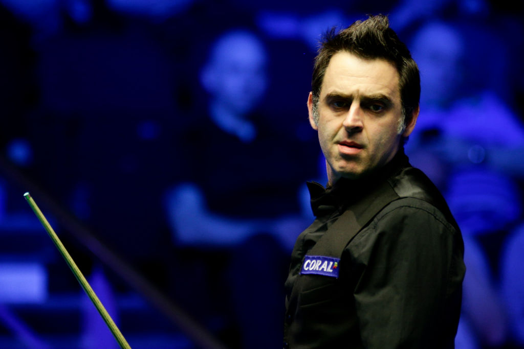 When is Ronnie O'Sullivan playing next at the 2019 Snooker World Championship?