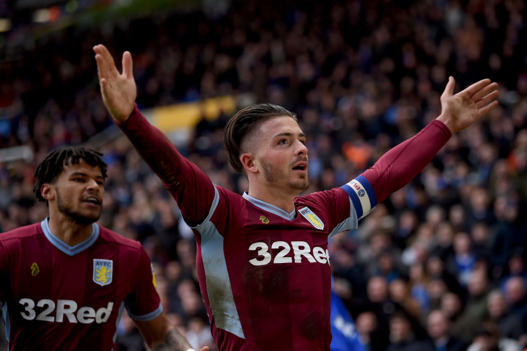 Man charged with assault after Jack Grealish 'punched from behind' in Aston Villa clash