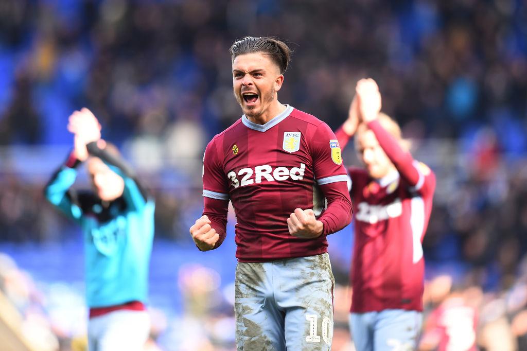 Revenge? Aston Villa star Jack Grealish 'likes' tweet confirming Birmingham's nine-point deduction