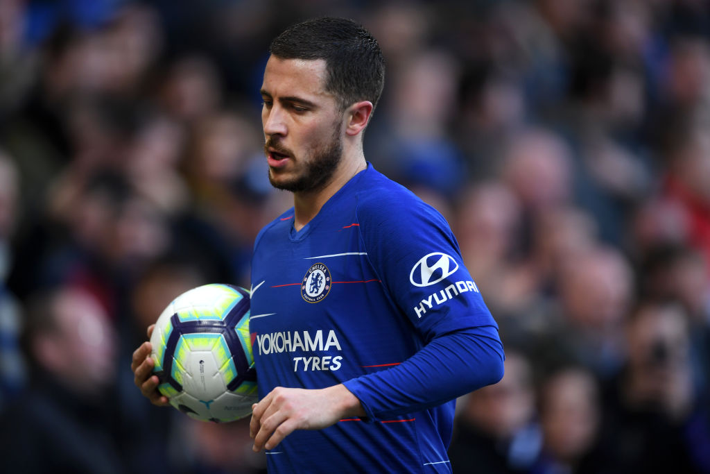 Chelsea manager Maurizio Sarri sends blunt message to Eden Hazard amid fresh Real Madrid transfer speculation