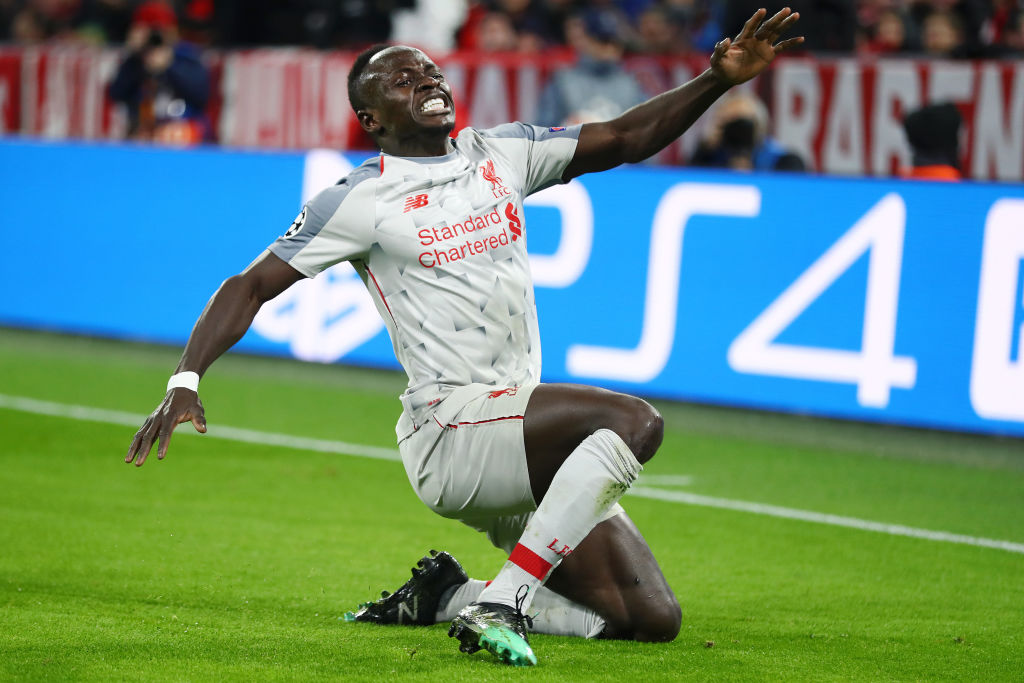 Sadio Mane equals Liverpool record for goals scored away from home in the Champions League