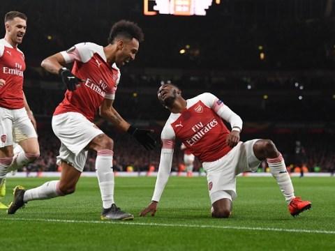 Arsenal star Pierre-Emerick Aubameyang praises Ainsley Maitland-Niles after goal vs Rennes