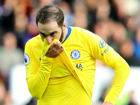 Maurizio Sarri reveals what Gonzalo Higuain has told him about Chelsea struggles