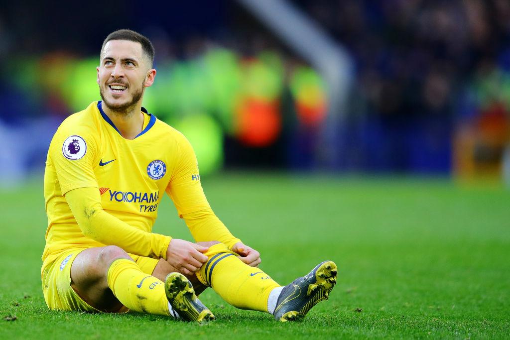 Chelsea set £98.5m asking price for Eden Hazard after rejecting transfer bid