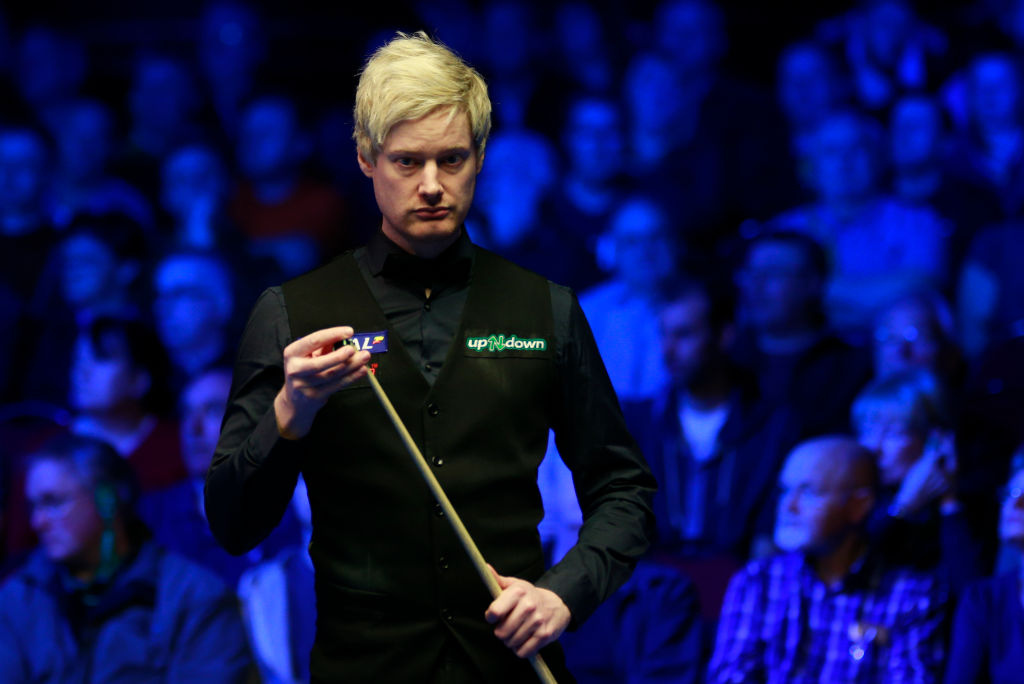 Neil Robertson was 'mentally shot to bits' during win over Mark Selby at Tour Championship