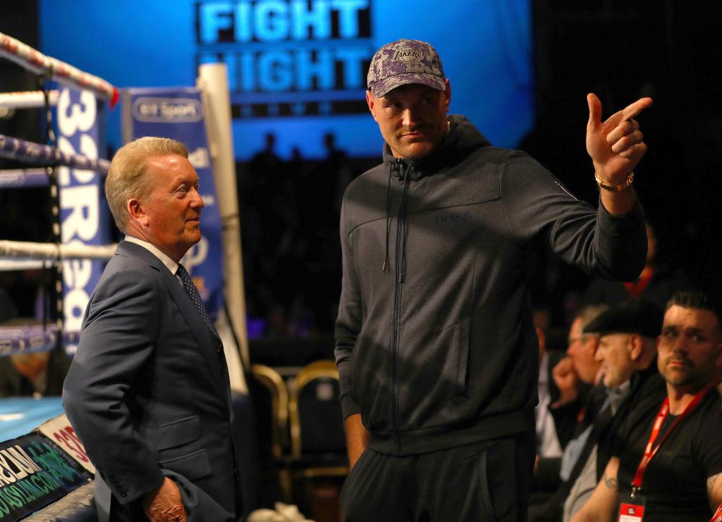 Frank Warren: Tom Schwarz has the same record Tyson Fury did when he beat Wladimir Klitschko
