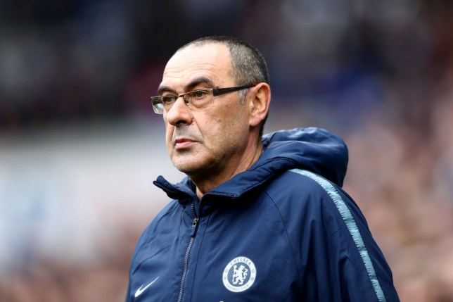 Chelsea fans turn on manager Maurizio Sarri during Cardiff game