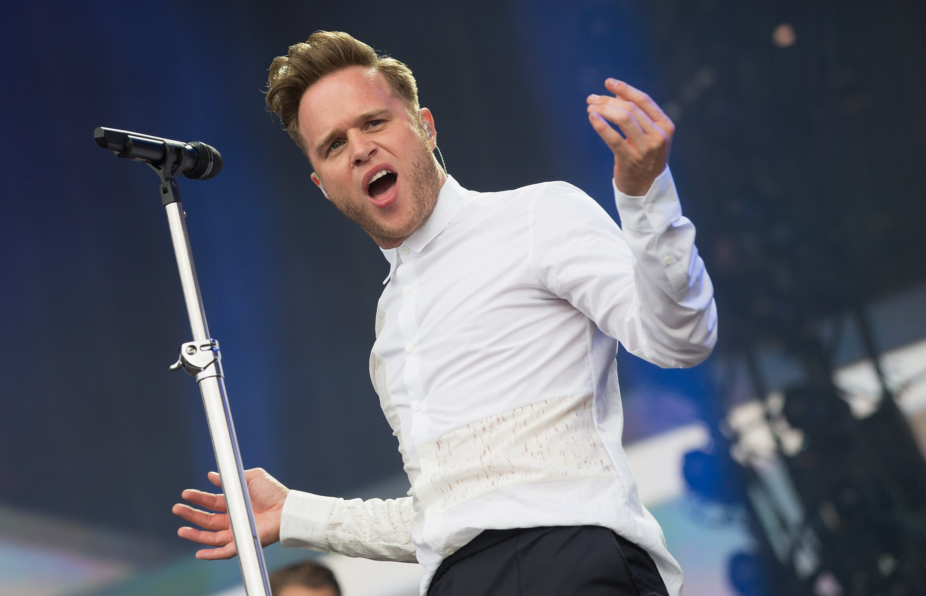 Olly Murs in 'genuine panic' after anxiety left him 'unable to breathe or remember lyrics' on stage