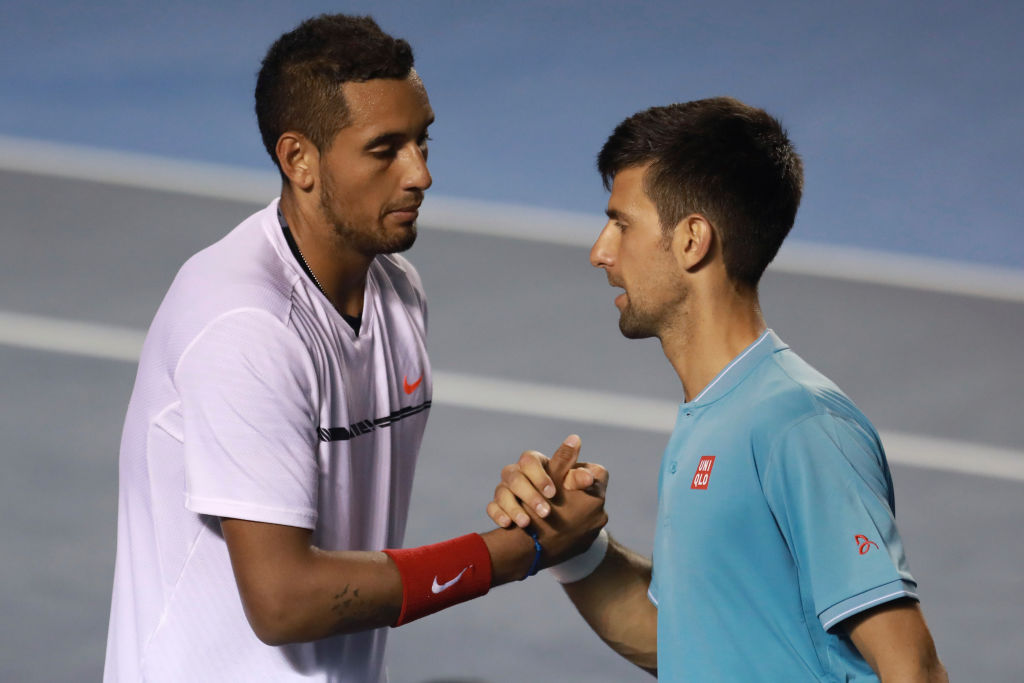 Novak Djokovic hopes for shot at in-form Nick Kyrgios at Indian Wells