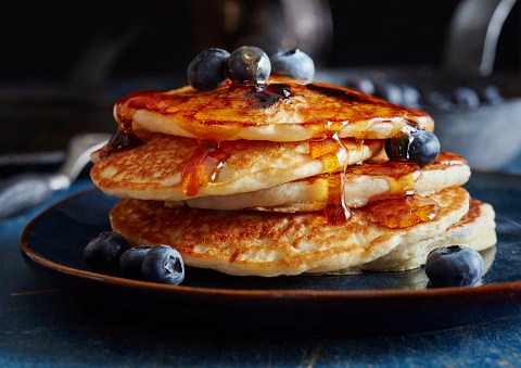 How to make American pancakes for Pancake Day