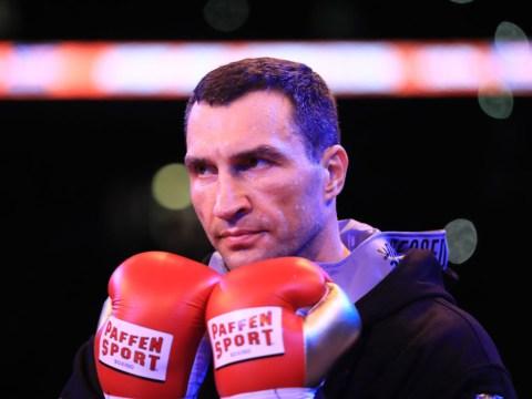 Eddie Hearn speaks out on potential Wladimir Klitschko comeback after £60m DAZN offer