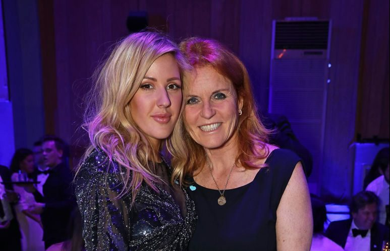 "Ellie Goulding 'planning to invite ""rebel"" Sarah Ferguson to her hen party'"