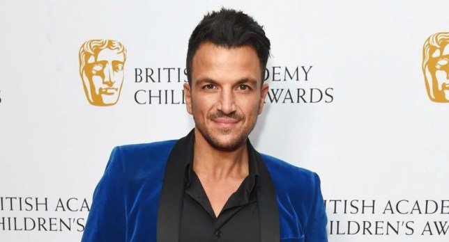 Peter Andre at the BAFTAs