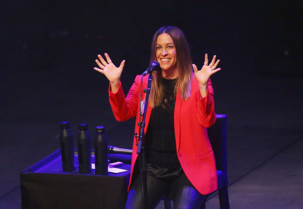 Alanis Morissette is pregnant with her third child: 'So much NEWness'