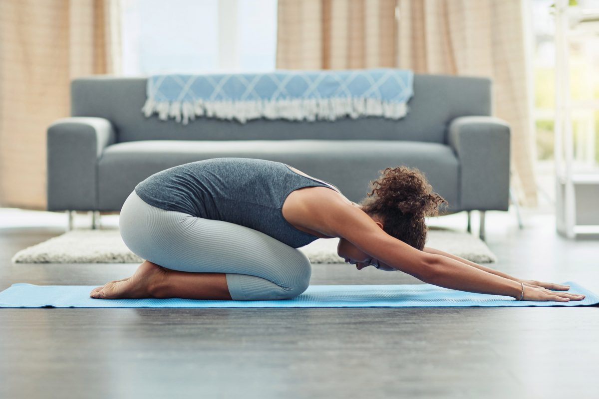 How to stay safe when practicing yoga at home