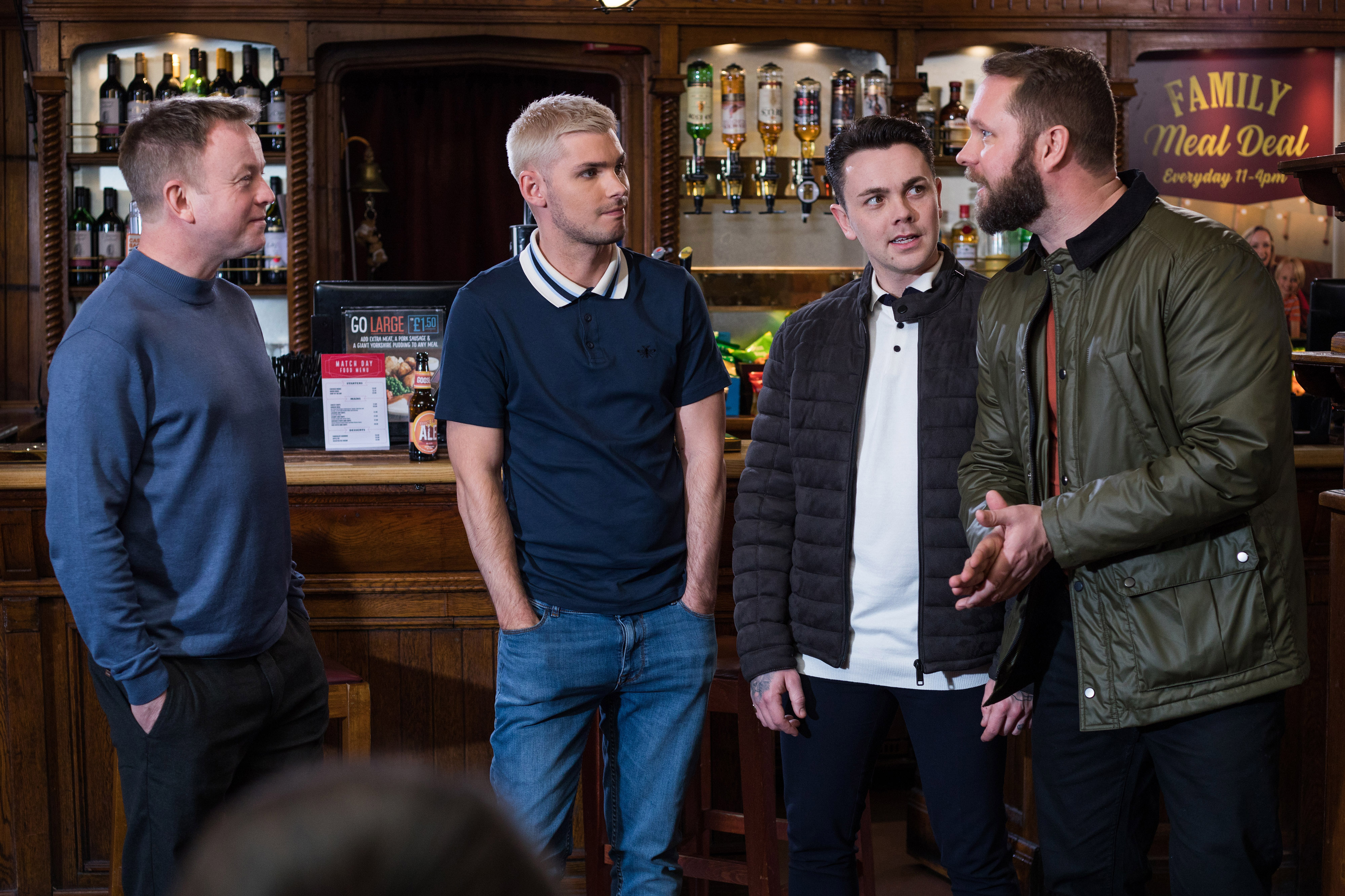 Ste Hayes far right storyline in Hollyoaks