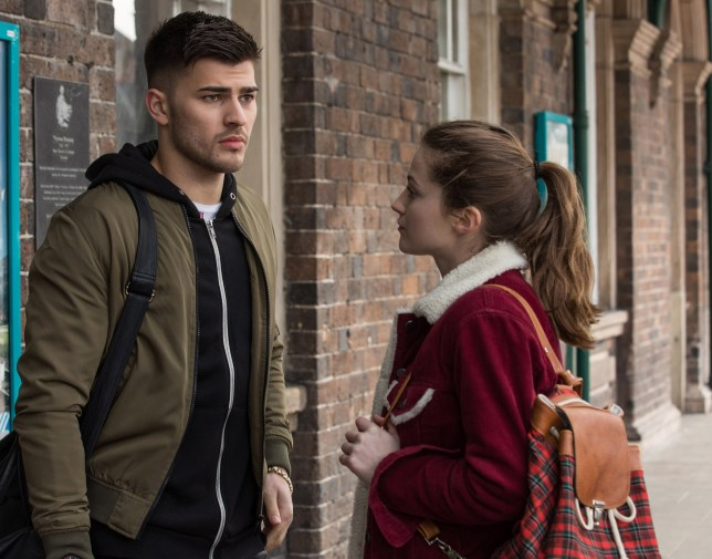 Owen leaves with Lily in Hollyoaks