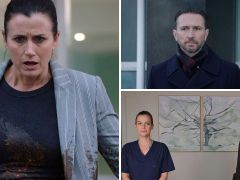 Holby City review with spoilers: Fletch's son snatched by protesters?