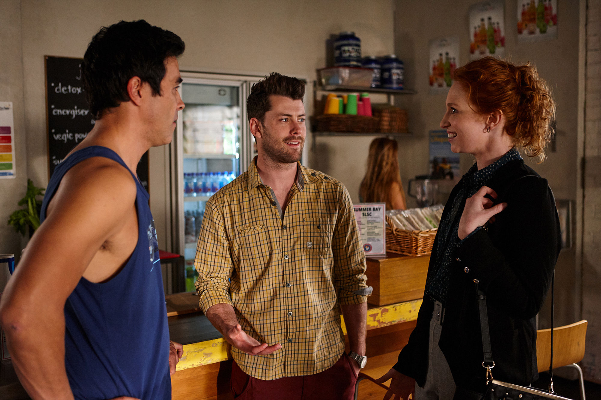 Home and Away spoilers: Justin discovers Brody's affair with Simone