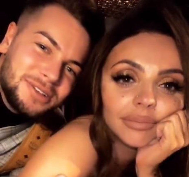 Jesy Nelson and Chris Hughes are officially a couple (Picture: Instagram)