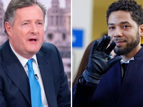 Piers Morgan brands Jussie Smollett a 'liar' after charges are dropped: 'You let your mum down'
