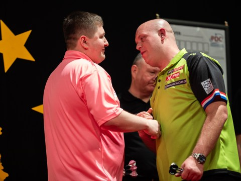 Michael van Gerwen suffers first Euro Tour loss since September as Keegan Brown ousts him from German Darts Championship