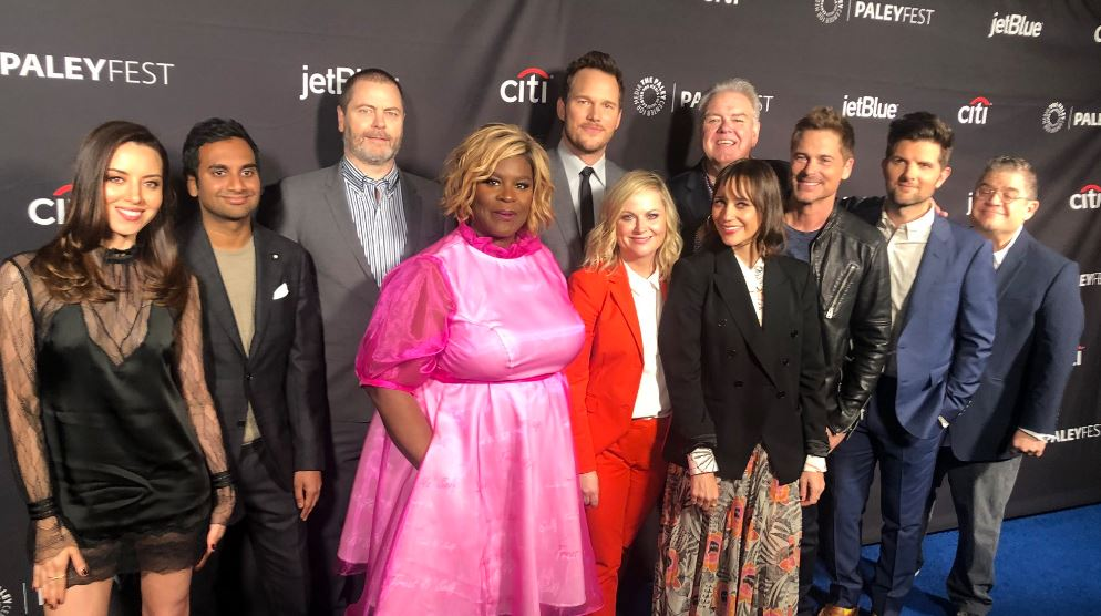 Praise Lil Sebastian – it's Pawnee reunited as Parks and Recreation cast gather for 10th anniversary