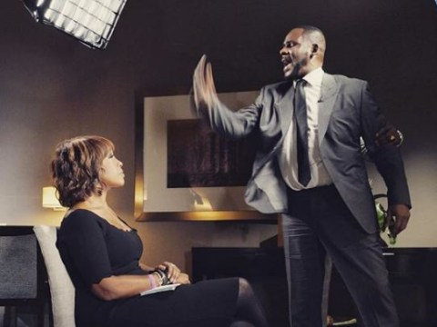 Gayle King 'wasn't scared' when R Kelly lost his temper during his volatile CBS interview