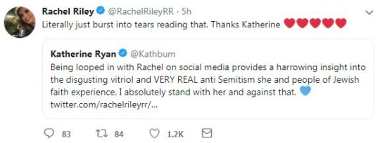 Rachel Riley responds to trolls after they threaten to