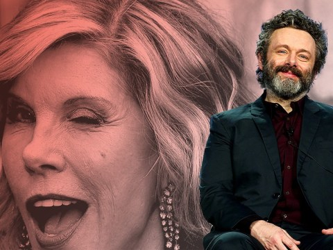 Michael Sheen didn't actually name his penis after Christine Baranski FYI