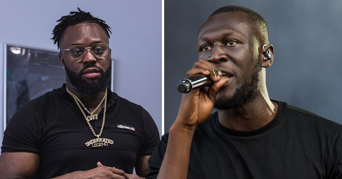 Stormzy pays tribute to 'brother' Cadet in surprise appearance at The Rated Legend Show