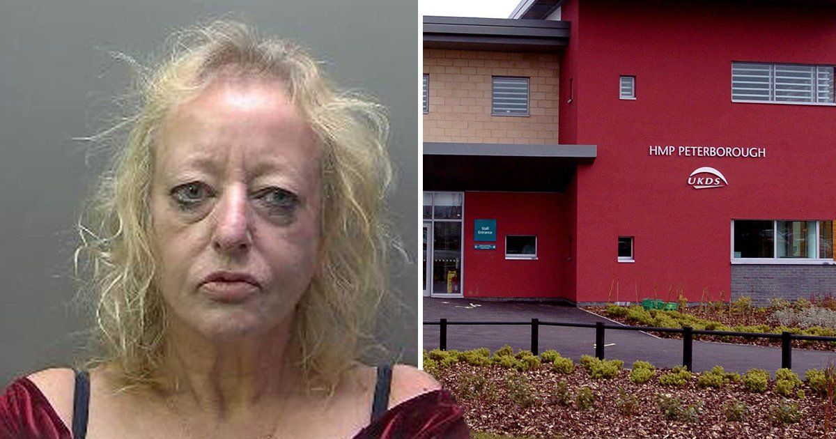 Mum caught sneaking drugs and phone into son in prison using her bra