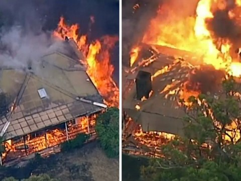 Man watched home explode live on TV as bush fires rip through Australia